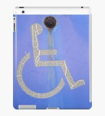 Disabled Man iPad Case/Skin