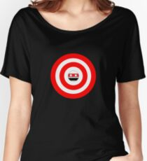 Face on target Women's Relaxed Fit T-Shirt