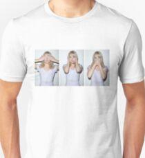 emma stone see/hear/speak no evil Unisex T-Shirt