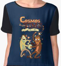 Cosmos Time Chiffon Top