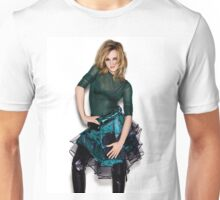 Emma Watson Green Unisex T-Shirt