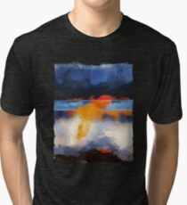 Dusk Reflection Tri-blend T-Shirt