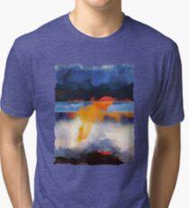 Dusk Reflection Tri-blend T-Shirt