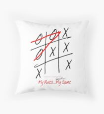 My Rules...My Game (9) from tony fernandes design Throw Pillow