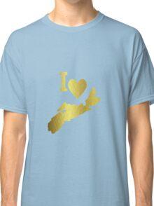 Gold Nova Scotia Classic T-Shirt