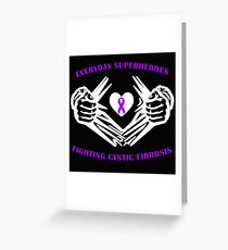 Cystic Fibrosis Heroes Greeting Card