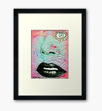 Thinking Pink Framed Print