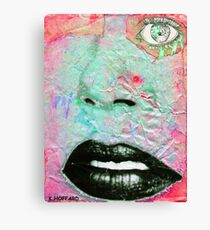 Thinking Pink Canvas Print