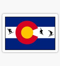Boarding Colorado  Sticker