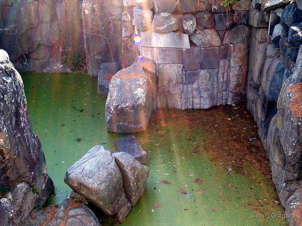 Water and Stone by Jimmy Ostgard