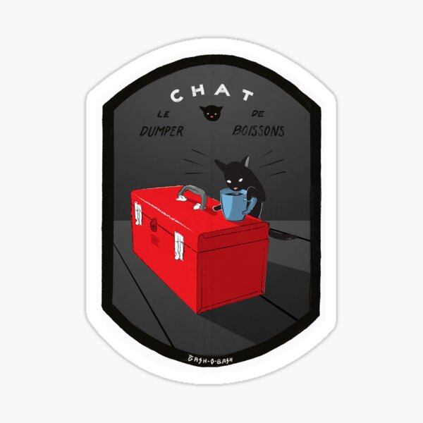 Chat with Coffee and Tools Revival! Sticker