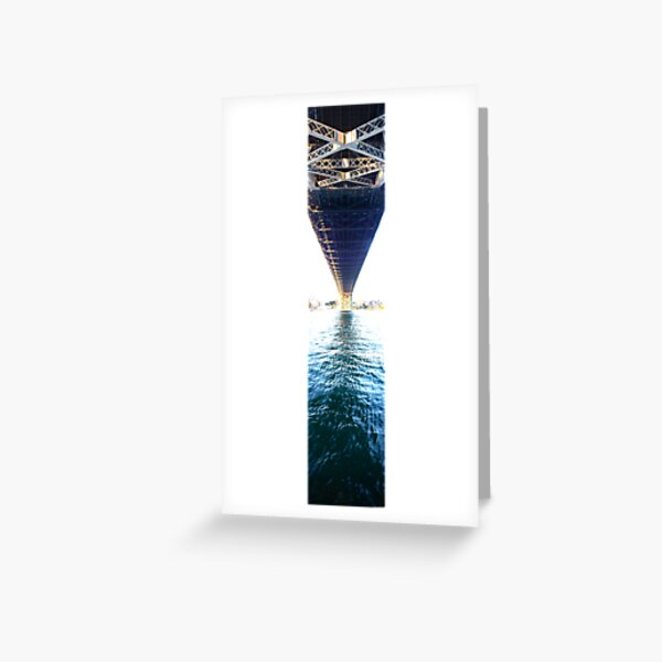 From one end to another  Greeting Card