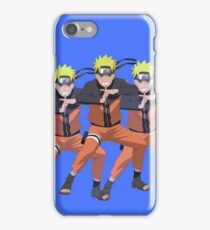 Naruto x3 iPhone Case/Skin