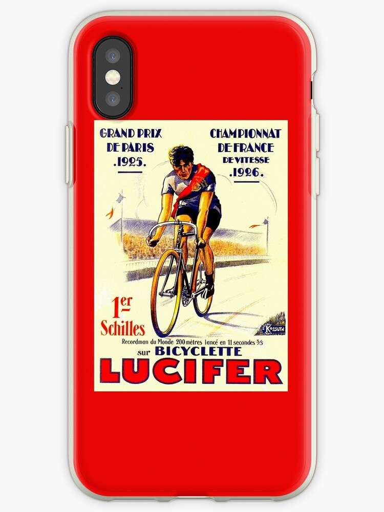 TOUR DE FRANCE: Vintage Lucifer Bike Print by posterbobs