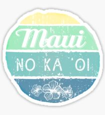 Maui No Ka Oi Sticker