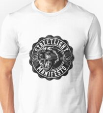 Straßenbeleuchtung - Manifest Unisex T-Shirt