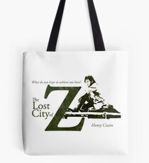 What do you hope to achieve out here? Tote Bag