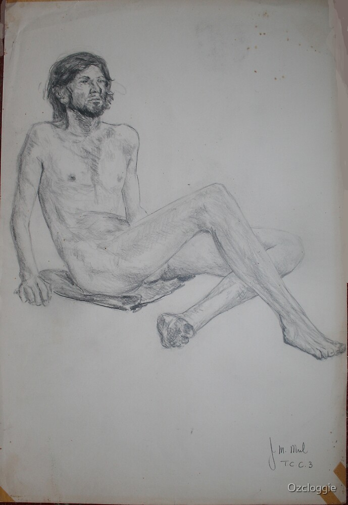 Drew this in 1971 (Art Teachers Conversion Course)  by Ozcloggie