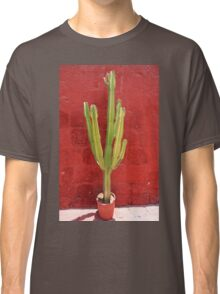 Cactus In The Monastery  Classic T-Shirt