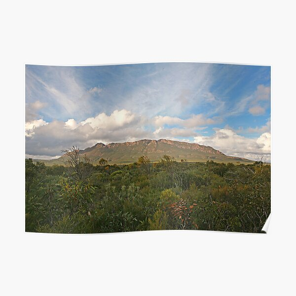 Mt Ragged, WA Poster