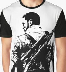 Weathered Karl Fairburne Sniper Elite 3 Graphic T-Shirt