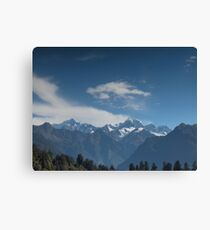 Shimmering Reality Canvas Print