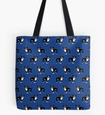 Boston Terrier dog breed pet friendly pattern simple basic dog lover gifts by PetFriendly Tote Bag