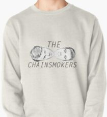 The Chainsmokers face illustrations Pullover