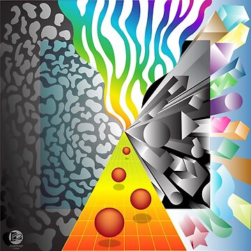 Rainbow Convergence by jbattdesign