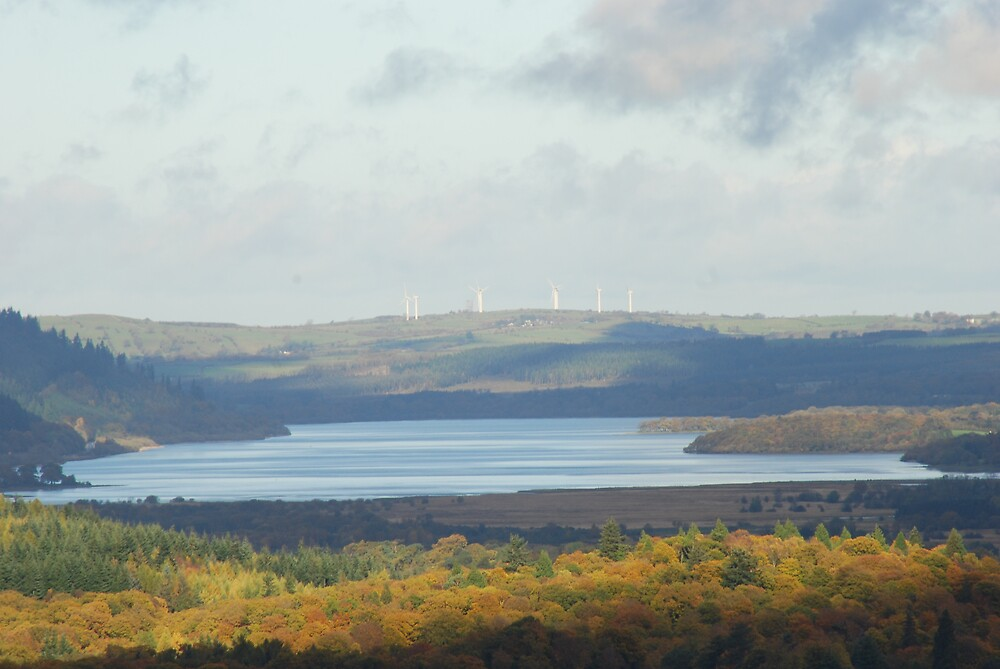 Distant Windmills by Maddie