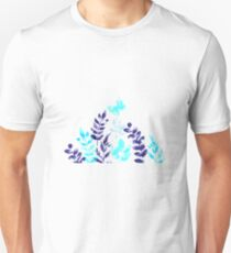 Flowers and Butterfly  Unisex T-Shirt