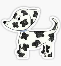 Spotted Puppy Sticker