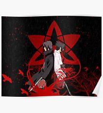 sasuke itachi  Poster