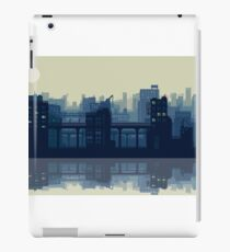 Pixel city iPad Case/Skin