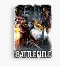 THIS IS MY BATTLEFIELD  Canvas Print