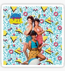 Saved by the Bell Girls Sticker