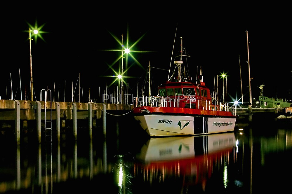 """Harbourside Reflections"" by Phil Thomson IPA"