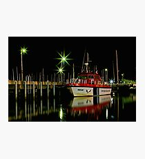 """""""Harbourside Reflections"""" Photographic Print"""