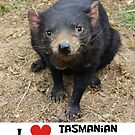 I love Tasmanian Devils by ljm000