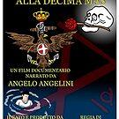 Dalla Regia Marina alla Decima Mas - Official Poster by CLAUDIO COSTA