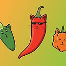 Pepper Cats by Samantha Moore