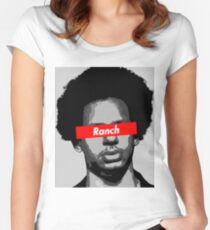 Eric Andre Ranch Women's Fitted Scoop T-Shirt