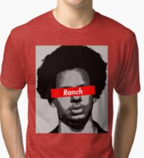 Eric Andre Ranch Tri-blend T-Shirt