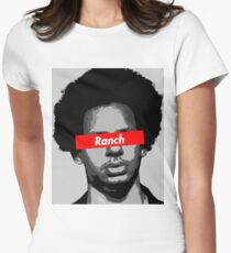 5bfe9b17eb Eric Andre Ranch Women s Fitted T-Shirt