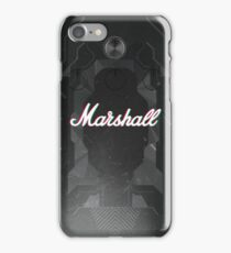 Marshall Grunge Shell iPhone Case/Skin