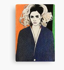 """Marina and the Diamonds 14 - """"The weather today is partly suspicious with chances of betrayal"""" Canvas Print"""