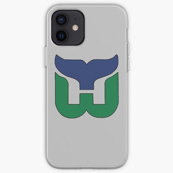 Hartford Whalers CT Logo iPhone Soft Case