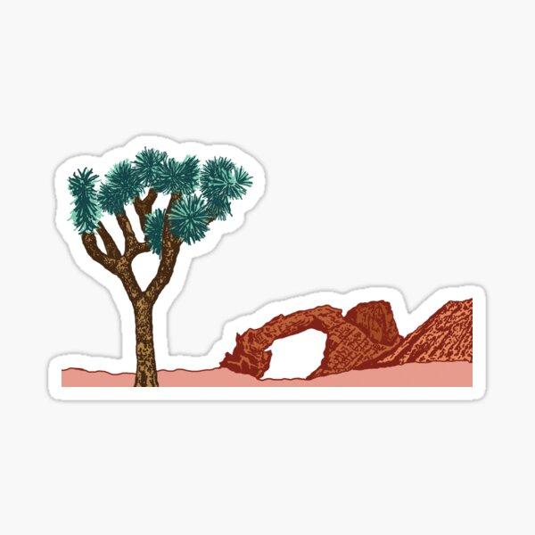 Desert Palette Sticker