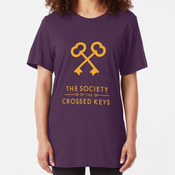 The Society of the Crossed Keys Slim Fit T-Shirt