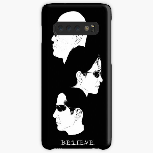 Ready to Believe?  Black + White. Samsung Galaxy Snap Case